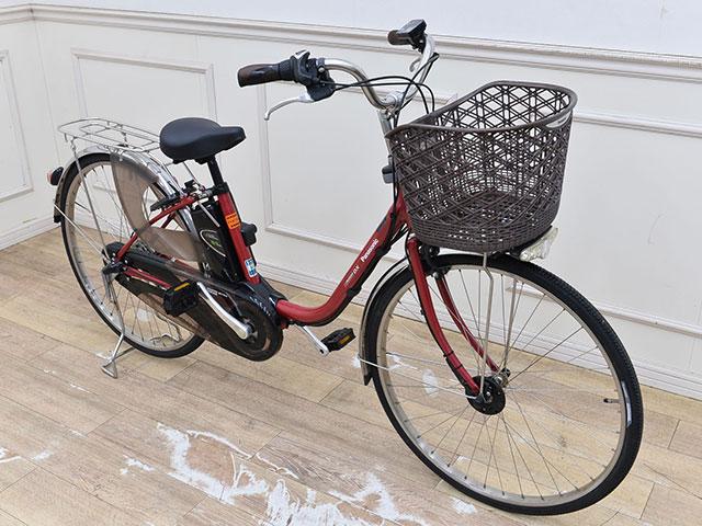 画像:電動アシスト自転車斜め正面全体